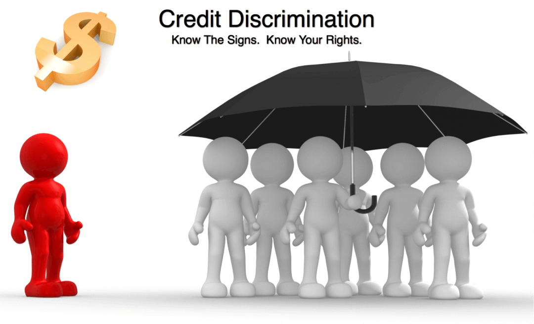 Signs of credit and lending discrimination